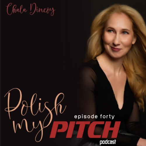 Polish My Pitch Podcast episode forty with Alicia Couri, CEO