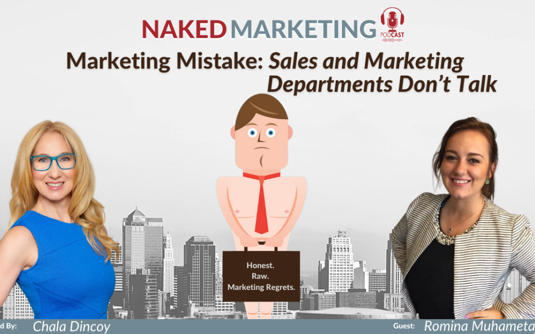 Marketing Mistake: Sales and Marketing Departments Don't Talk