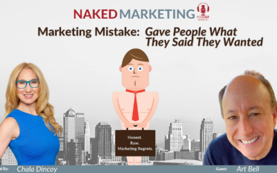 Marketing Mistake 10: Gave People What They Said They Wanted
