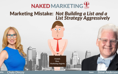 Marketing Mistake 13: Not Building List and a List Strategy Aggressively