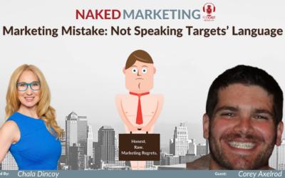 Marketing Mistake 14: Not Speaking Targets' Language