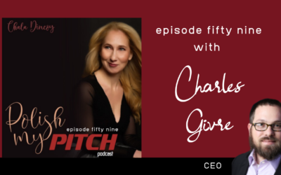 Polish My Pitch Podcast episode fifty nine with Charles Givre